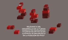 RELEVANCIA DE LA FUERZA POTENCIA EN DEPORTISTAS JUVENILES DE