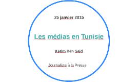 Les médias en Tunisie