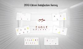 Eagle Mountain Citizen Survey Results