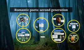 Romantic poets: second generation (BL2-R2)