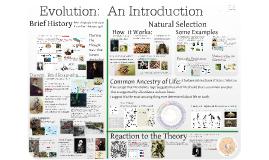 Copy of AP Bio- Evolution 1:  Introduction to Evolution