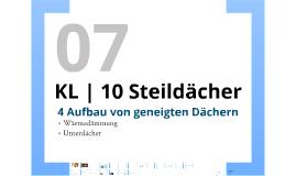 KL | Steildächer - P07