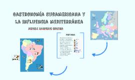 Gastronomía Mediterranea en Sudamerica