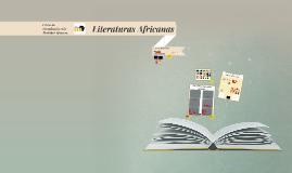 Literaturas africanas CIRA 2018