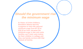 Rising minimum wage