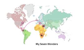 Ben's 7 wonders of the world