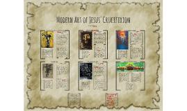 Modern Art  of Jesus' Crucifixion