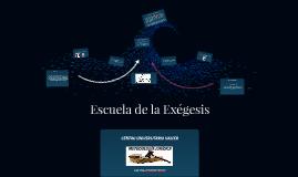 Escuela de la exegesis