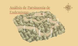 Análisis de Parsimonia de Endemismo