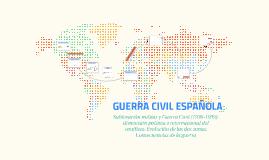 Sublevación militar y Guerra Civil (1936-1939): dimensión po
