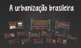 Cópia de A urbanização brasileira