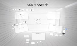 Copy of CRISTALOGRAFÍA