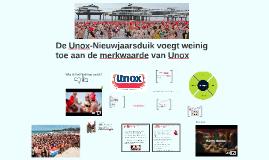 De Unox-Nieuwjaarsduik voegt weinig toe aan de merkwaarde va