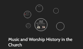 Music and Worship History in the Church
