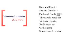 Revision - Victorian Literature