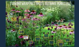 Tuinontwerp met vaste eetbare planten