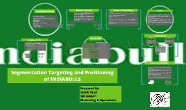 Segmentation Targeting and Positioning of INDIABULLS