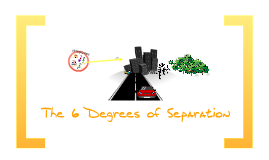 The 6 Degrees of Separation