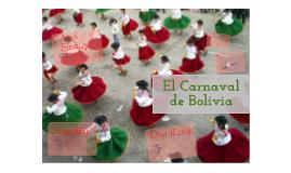 El carnaval de Bolivia