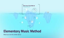 Copy of Elementary Music Pedagogy