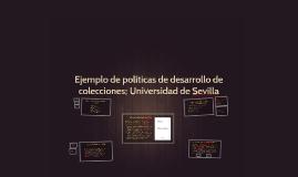 Ejemplo de políticas de desarrollo de colecciones