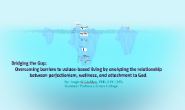 Bridging the Gap: Overcoming barriers to values-based living
