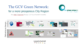 The GCV Green Network: for a more prosperous City Region
