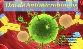 Vía de absorción Antimicrobianos