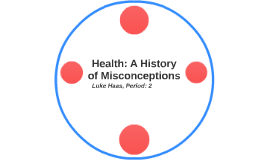 Health: A History of Misconceptions