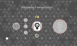Wikipedia & femactivism