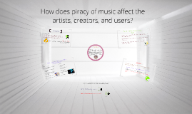 Copy of Copy of How does piracy of music affect the artists, creators, and users?