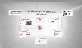 EZ-OHIKO BATZARRA 2013
