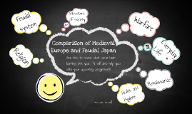 Comparison of Medieval Europe and Feudal Japan