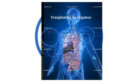 Trasplantes de órganos