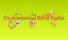 Environmental Bill of Rights Presentation
