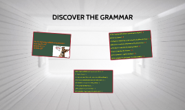 DISCOVER THE GRAMMAR (A05)