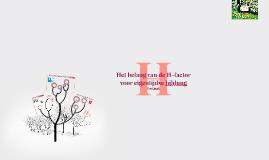 Het belang van de H-factor voor eigentijdse bildung