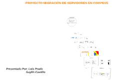 Copy of PROYECTO MIGRACIÓN DE SERVIDORES