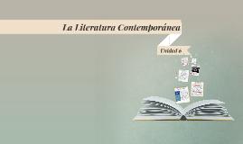 La Literatura Comtemponánea