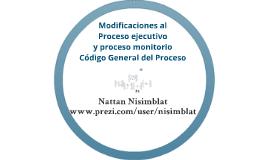 Proceso ejecutivo, adjudicación especial de la garantía real y proceso monitorio en el Código General del Proceso