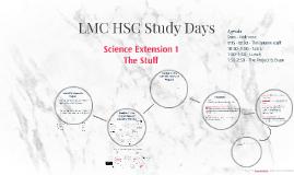 LMC HSC Study Days SciX1