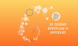 EL TEJIDO EPITELIAL