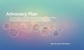 Advocacy Plan