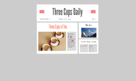 Three Cups Daily