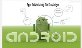 App-Entwicklung für Einsteiger