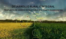 DESARROLLO RURAL E INTEGRAL