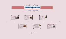 Escuelas jurídicas