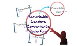 Remarkable Leadership Chapter 6