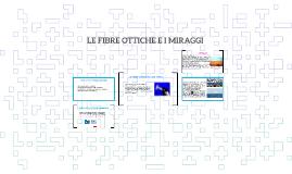 Copy of LE FIBRE OTTICHE