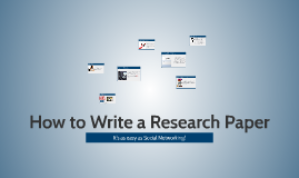 Copy of How to Write a Research Paper
